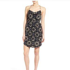 Madewell Starview Batik Grid Silk Dress 12